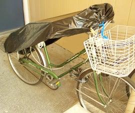'instant' bike shelter