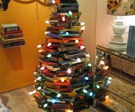 Bibliophile's Christmas Tree