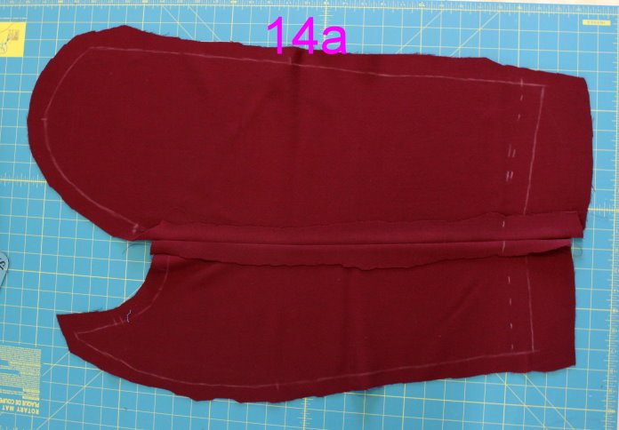 Picture of SLEEVE TOPSTITCHING