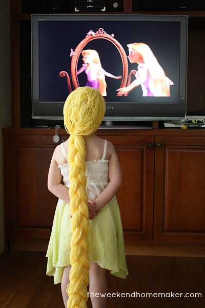 Picture of Turn on Movie and Pretend to Be Rapunzel