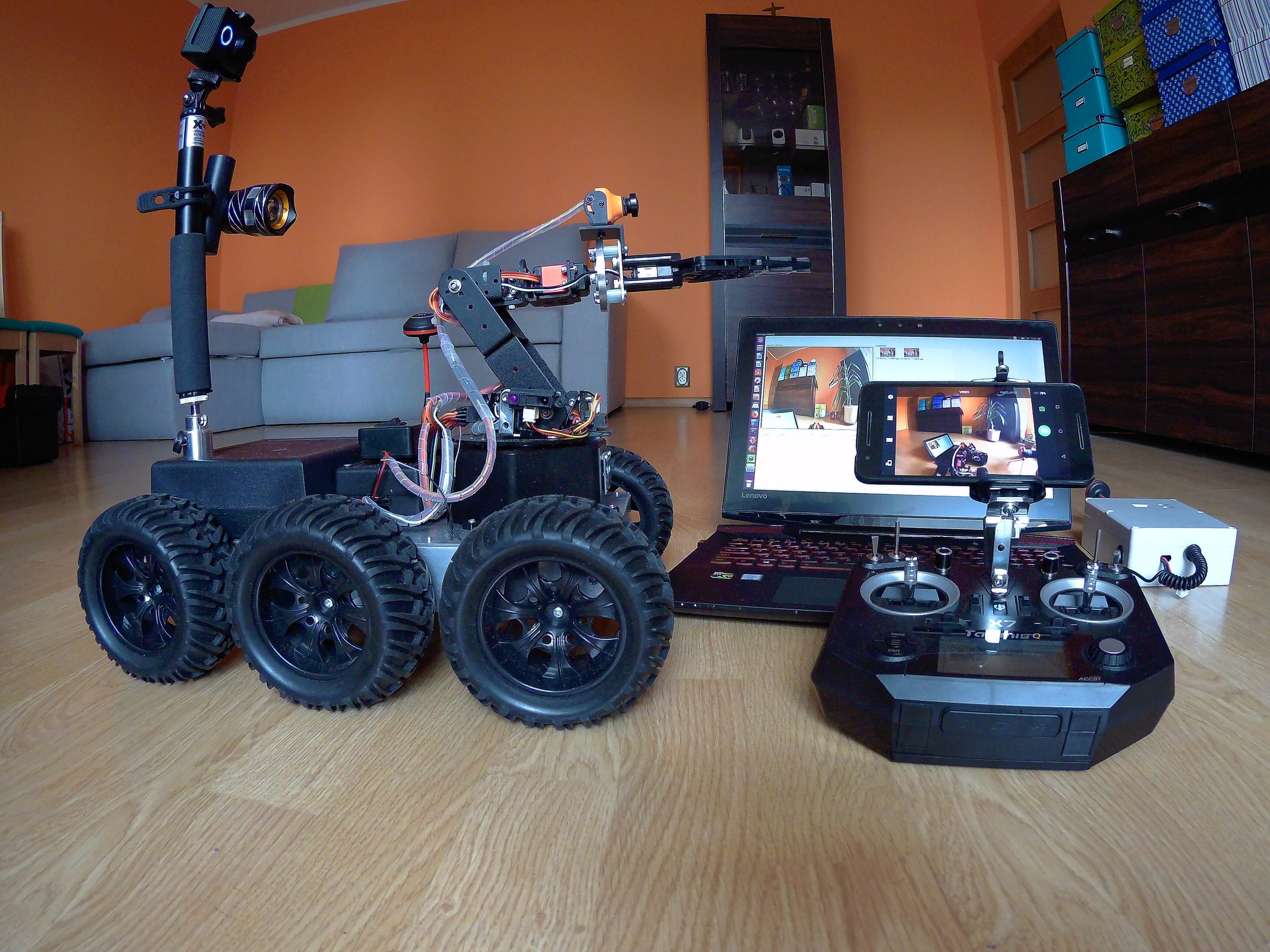 Picture of Testing Preview From Wifi and Fpv Cameras