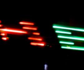 RGB POV Display