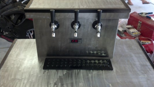How to Build a Keezer With a 3 Tap Tower (chilled Tower)