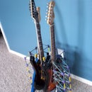 Electric Guitar Knex Stand Rack