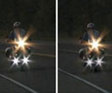 Motorbike Auxiliary Lights