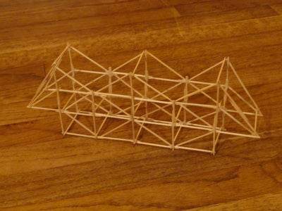 Toothpick Bridge 10 Steps With Pictures Instructables