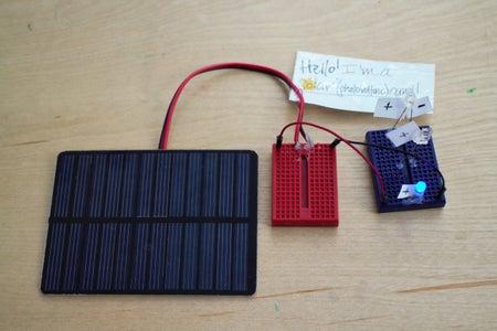 Photovoltaic Panels (aka Solar Panels)