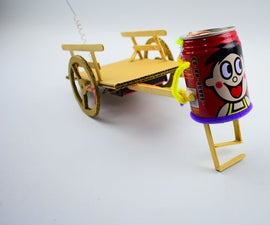 Making Robot Toys From Cans and Cardboard
