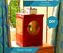Portable Evaporative Room Cooler