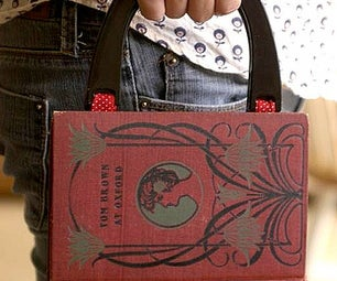 How to make a purse/clutch from a Book