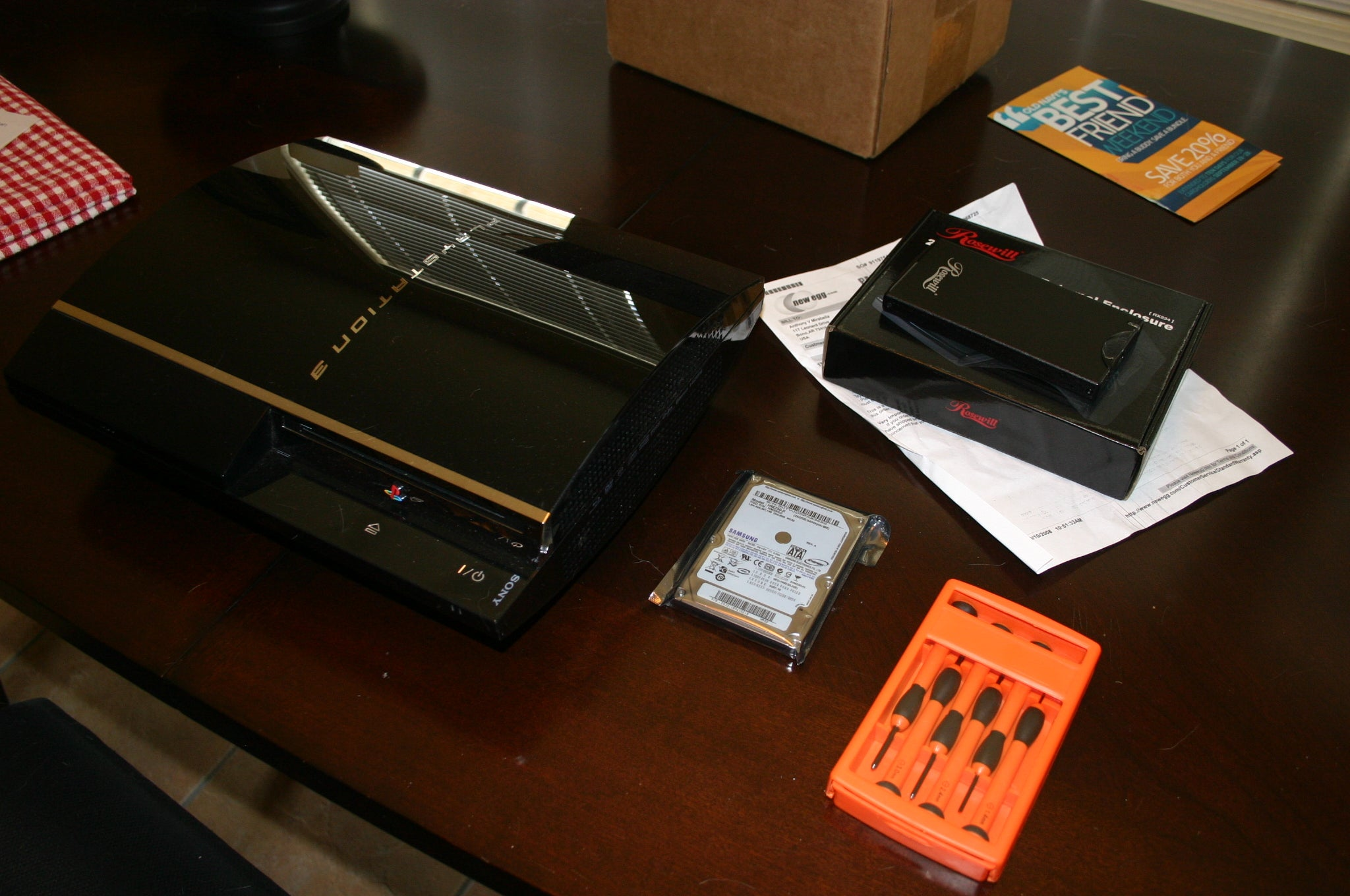 Upgrade Your Ps3s Hard Drive 6 Steps How To Repair Plasystation 3 Laser