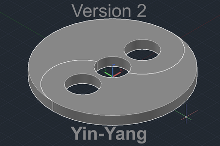 Yin-Yang Version 2- Made for a Better Fit