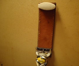 Razor Blade Cleaner and Honing Strop