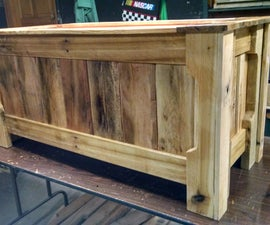 Pallet Wood Toy Box