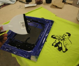 down and dirty screenprinting for under 10$