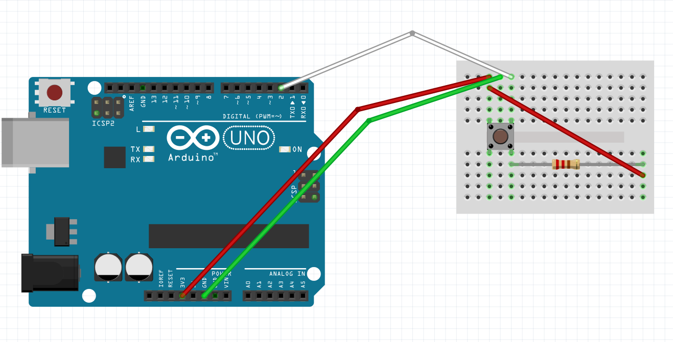 Picture of Setting Up the Arduino Wiring.