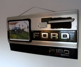 Ford F150 Memorial Truck Collage (Manly Crafts)