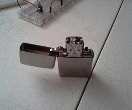 Rechargeable Zippo LED flashlight