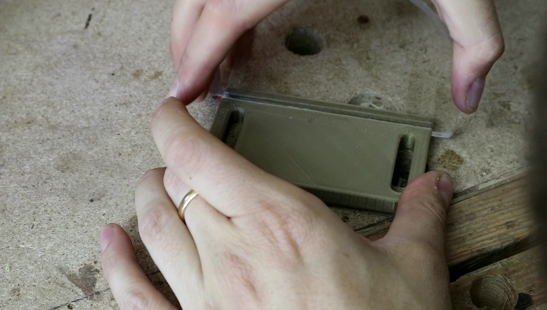 Picture of Making the Transparent Protection