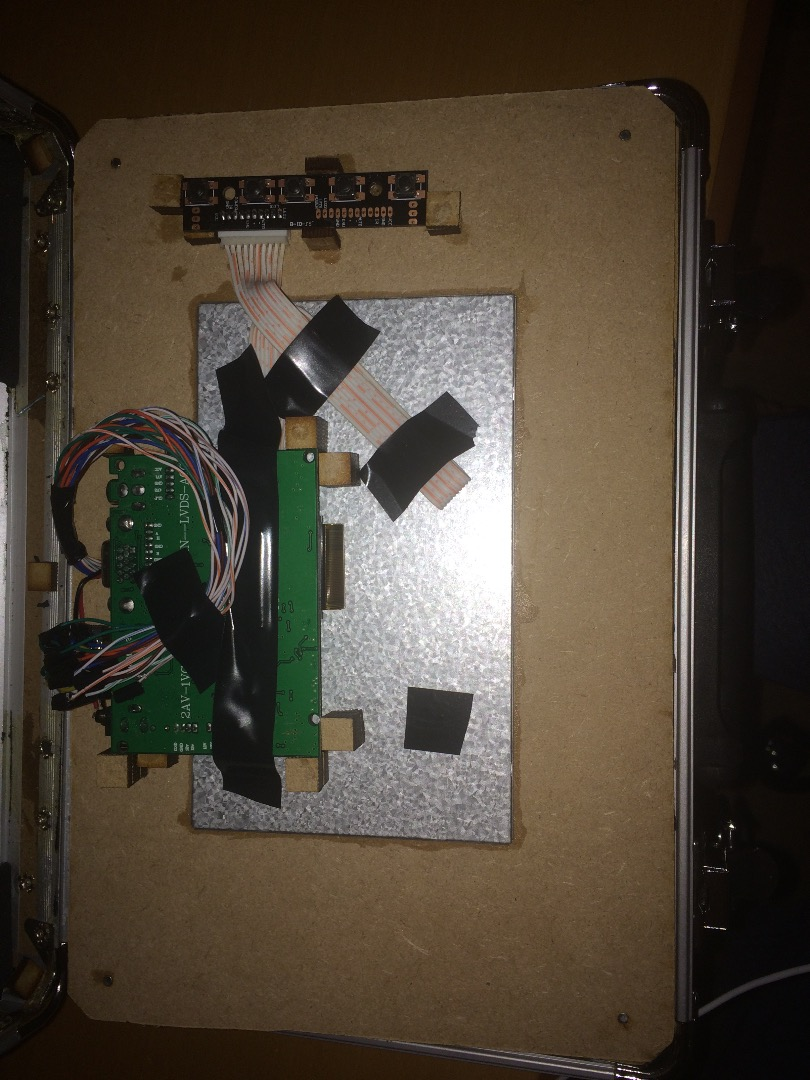 Picture of Installing the Lcd Controller Board