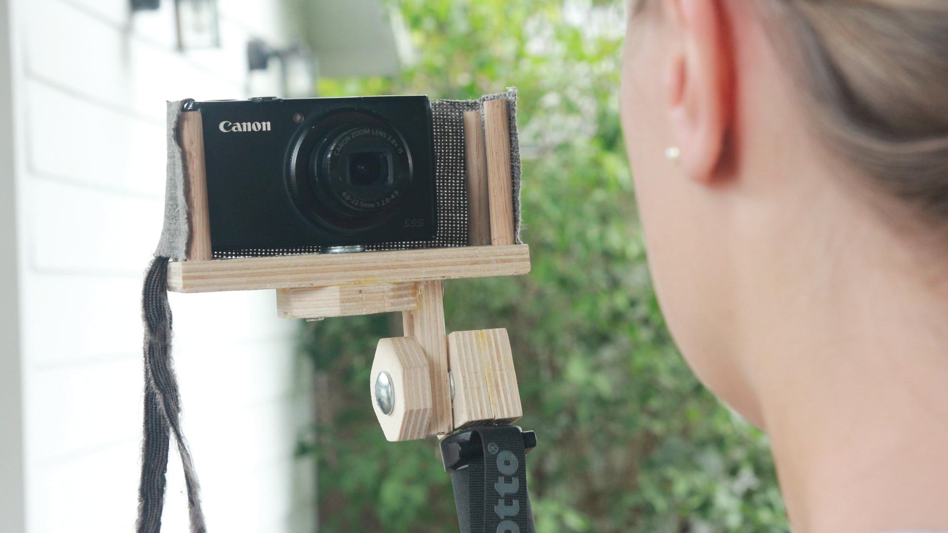 Picture of DIY Camera Selfie Stick W/ Wind Screen