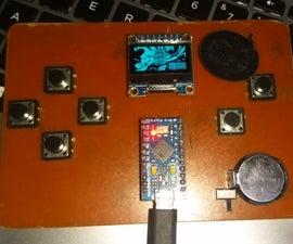 DIY Video Game Using Arduino (Arduboy Clone)