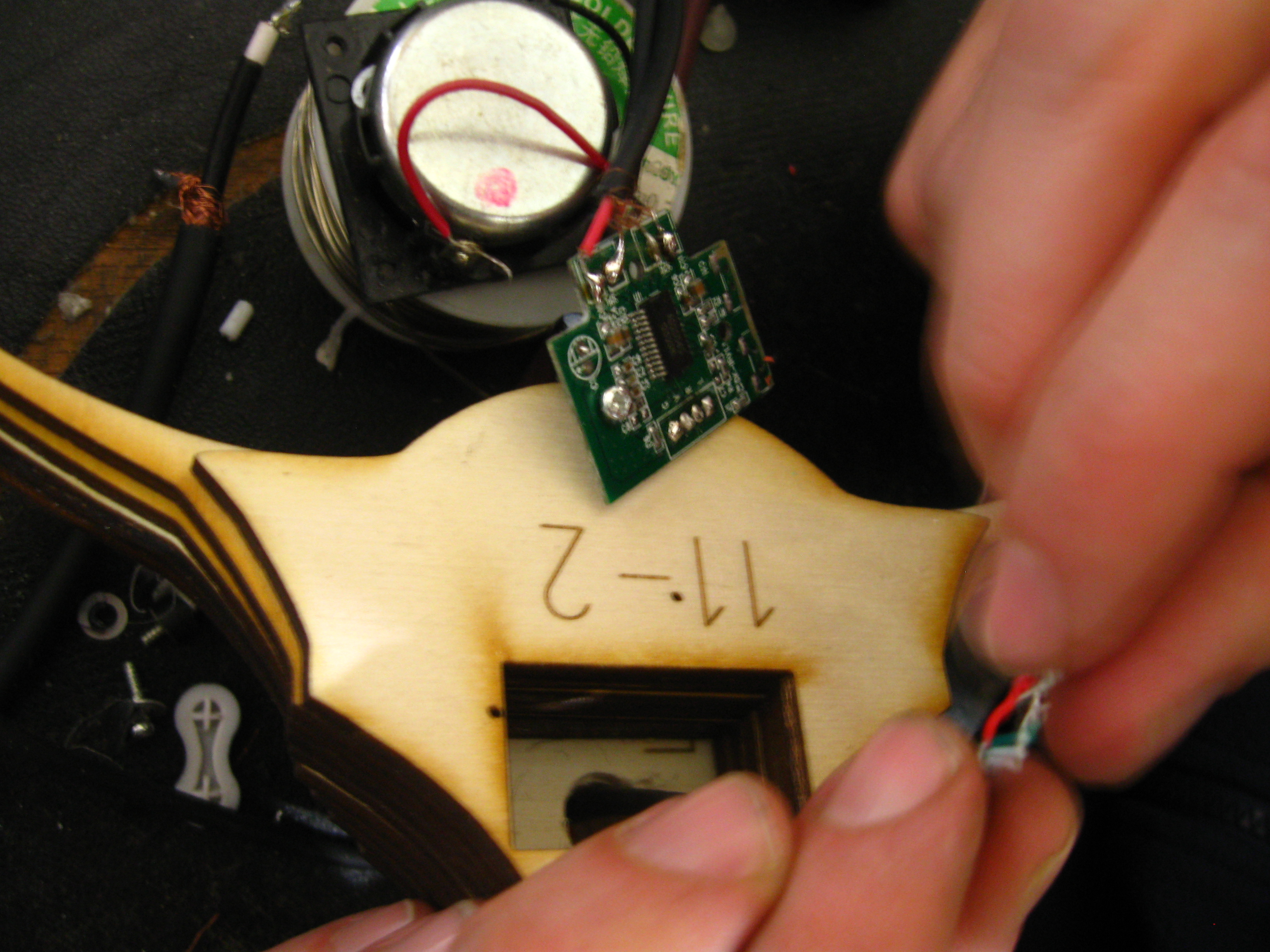 Picture of Final Soldering and Checking
