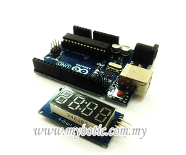 Tutorial How to 4-Digit Display Interface With Arduino UNO