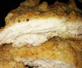 Boneless Fried Chicken Thighs!