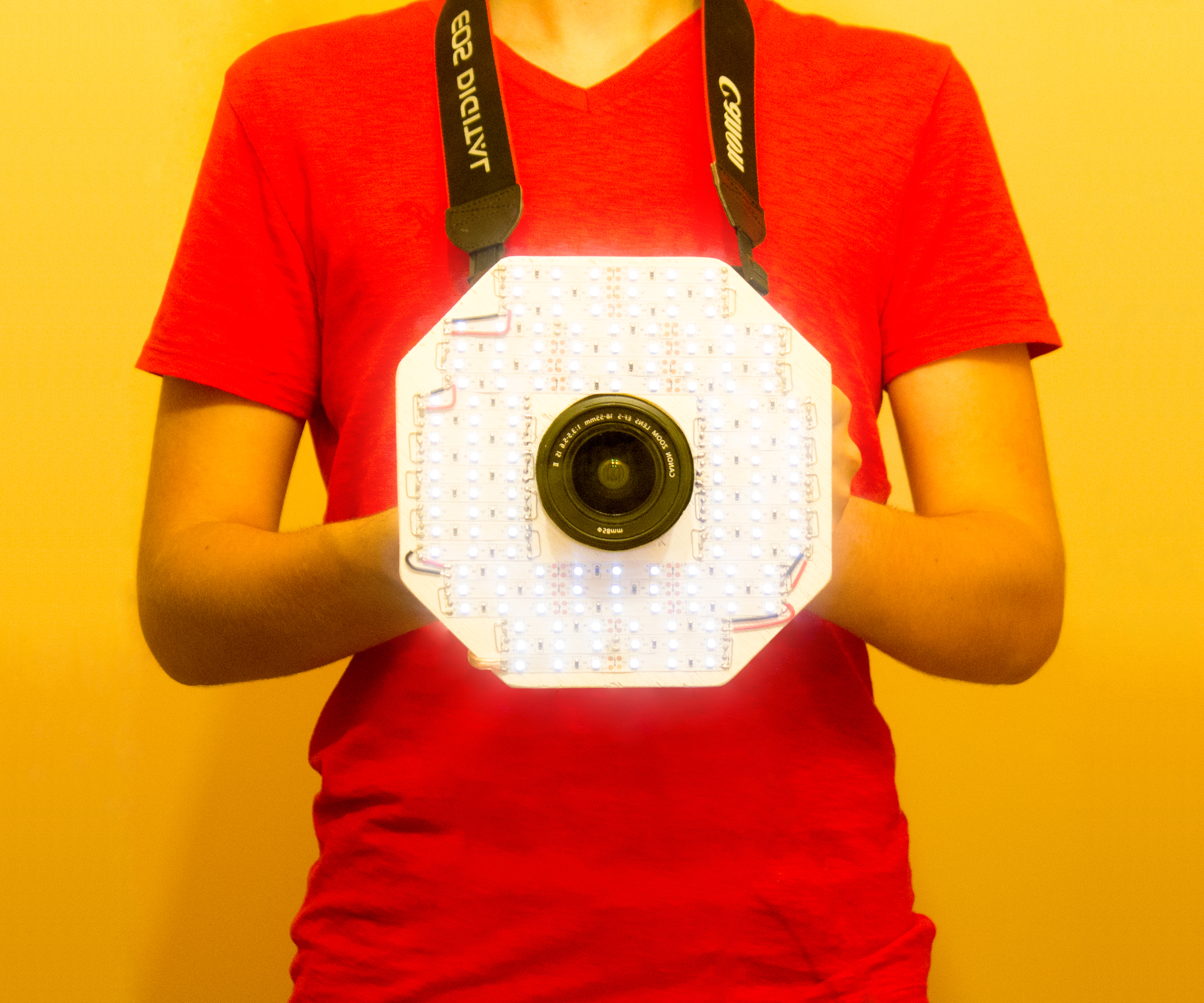 Picture of Octo-Light: LED Camera Ring