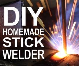 自制棍子焊工 - 从微波零件!