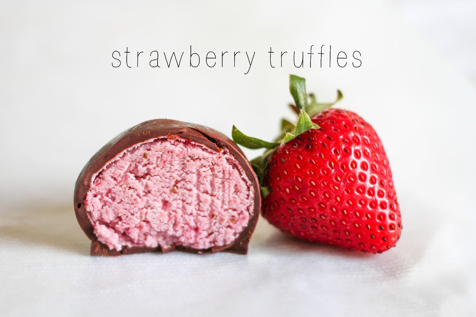 Picture of Strawberry Truffle Recipe