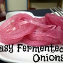 Easy Fermented Onions
