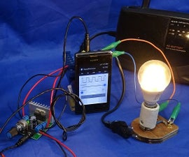 Make AC Inverter with Mobile App & Audio Amplifier