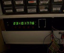 Control panel for workshop
