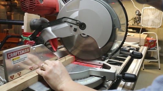 Cutting the Legs, Cleats and Support Bar
