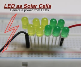 Solar Power From LED