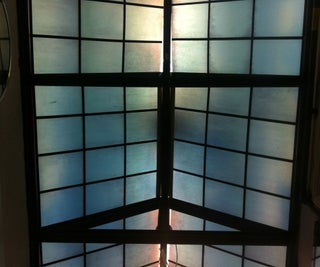 Faux Glass Roof