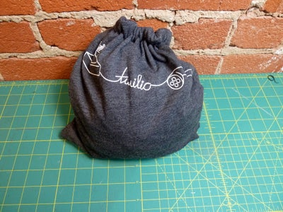 Function-Reversible Drawstring Backpack/Pouch