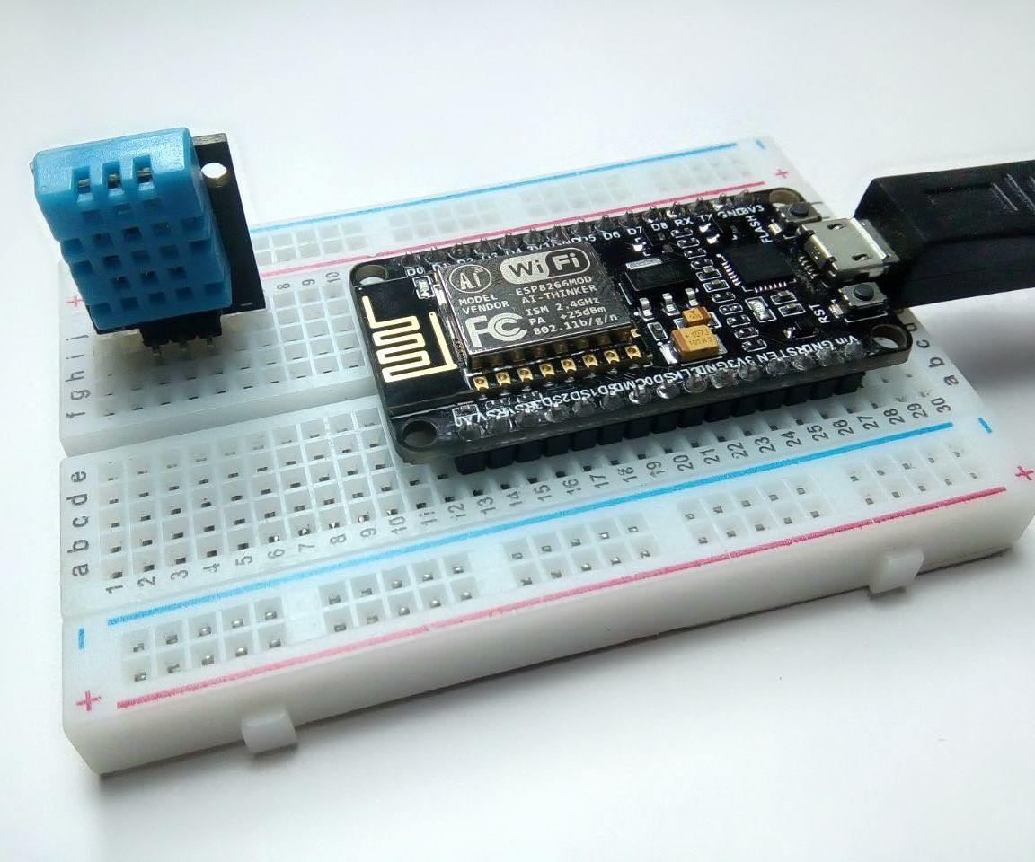 Interface DHT11 (Humidity Sensor) Using NodeMCU: 6 Steps (with Pictures)