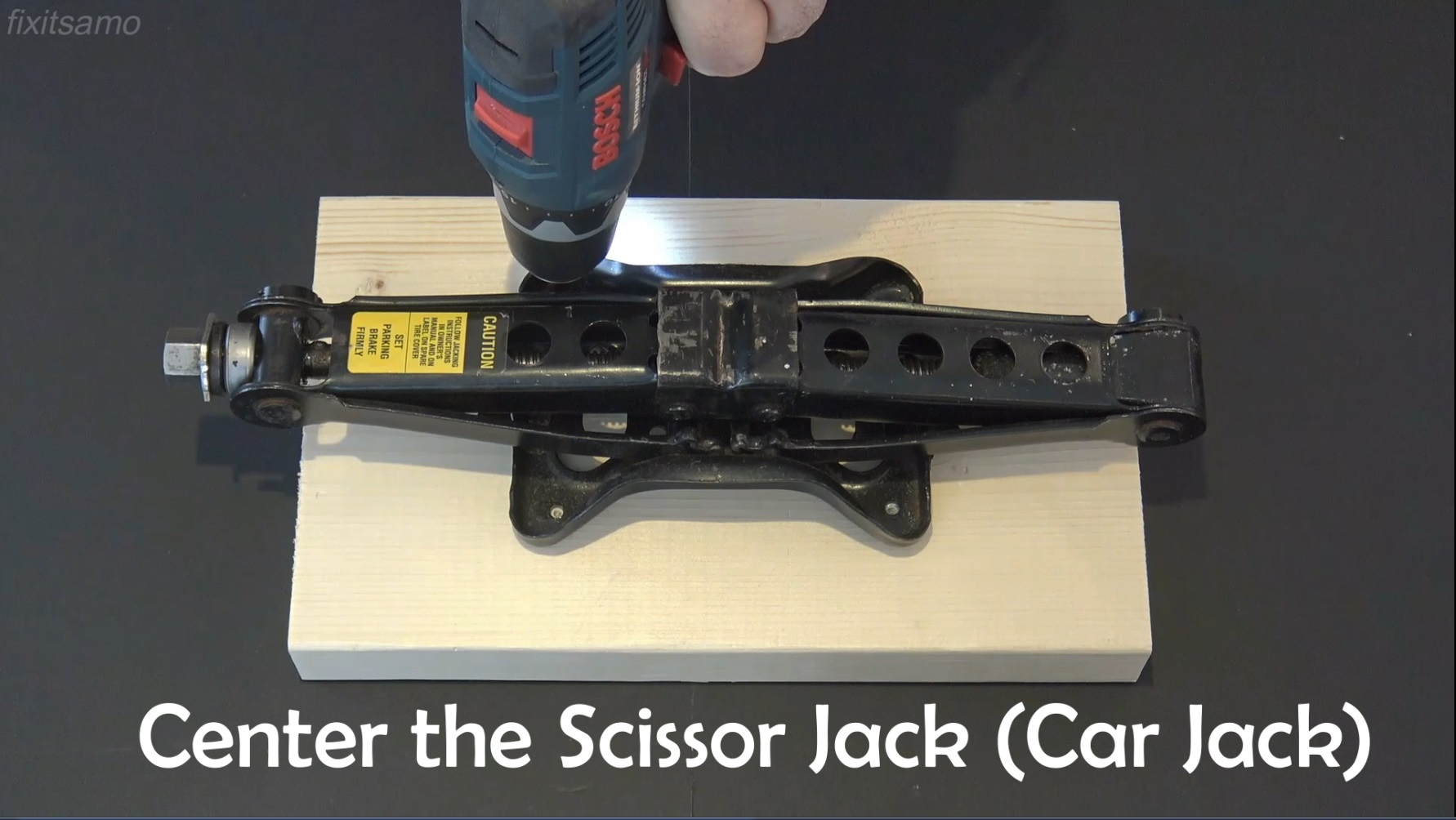 Picture of Step 2: Scissor Jack
