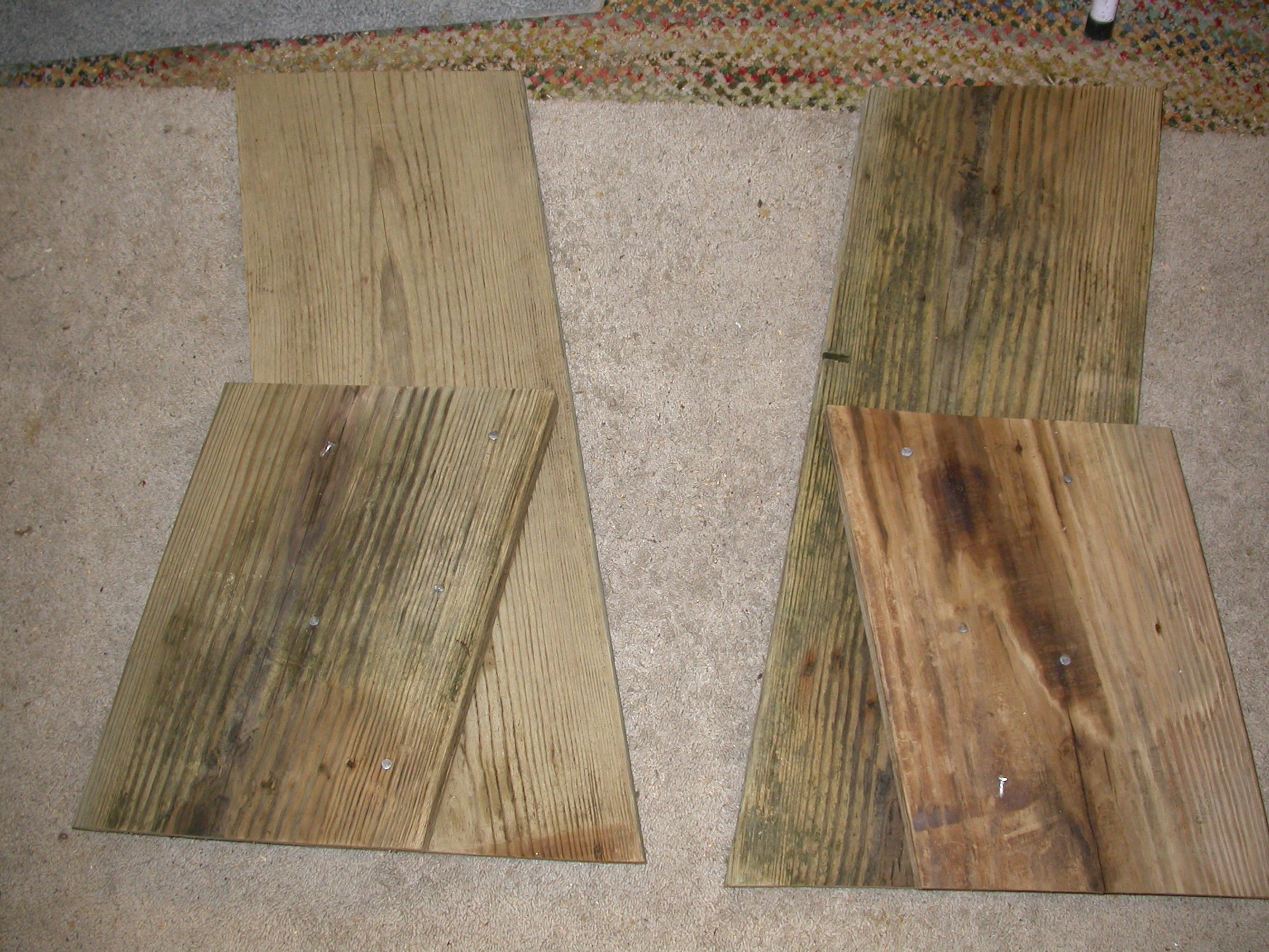 Picture of Easy Beach or Garden Bench Out of Scrap Wood