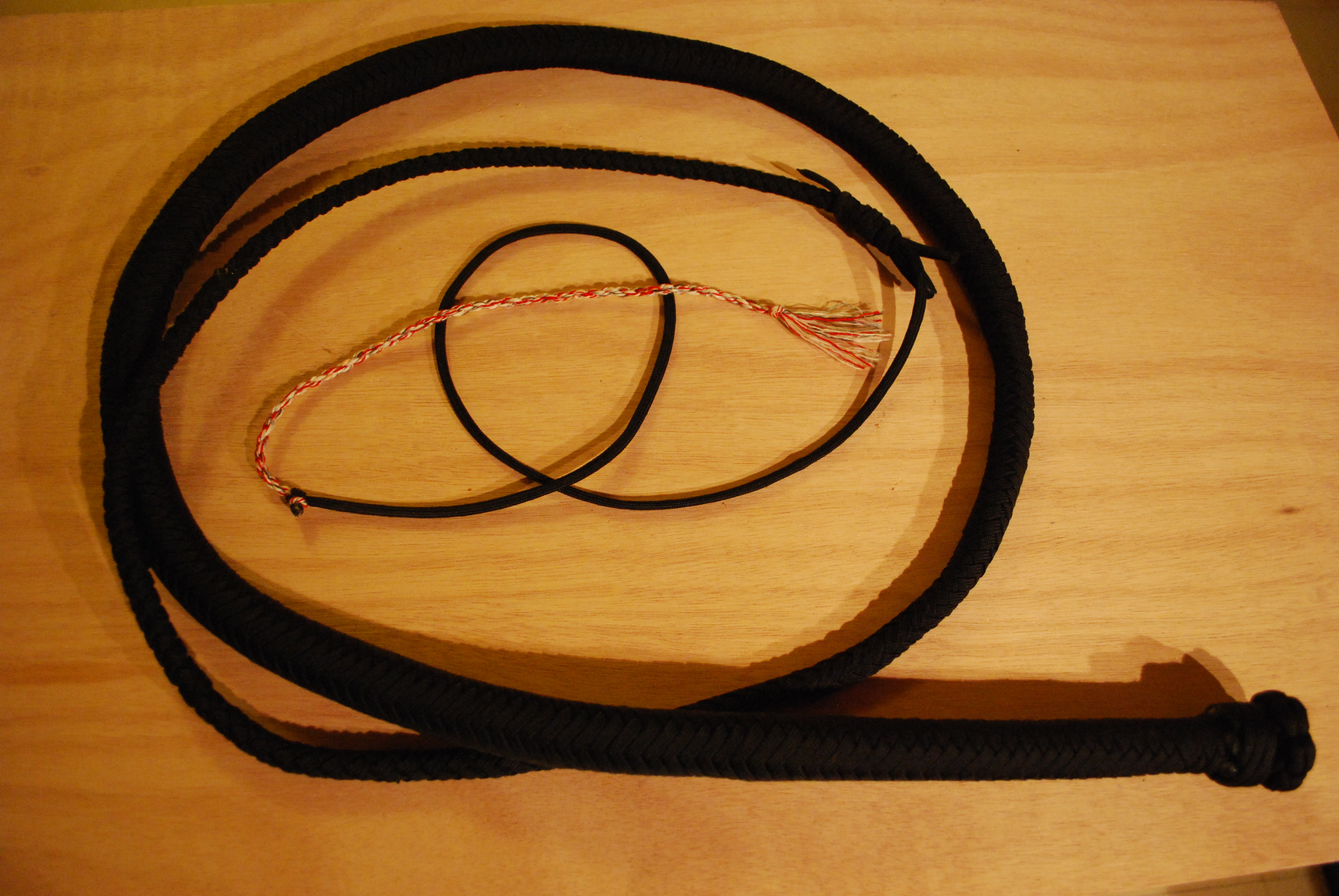 Picture of Paracord Bullwhip