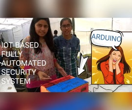 RFID Security System (Arduino Based)