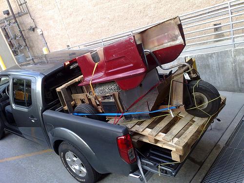 Picture of Turf Rider Mark IV Golf Cart Restoration