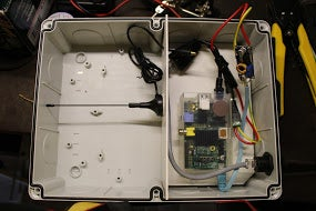 Feeding Data With a Raspberry PI Single Board Computer and a DVB-T USB Stick
