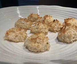 Golden Coconut Macaroons