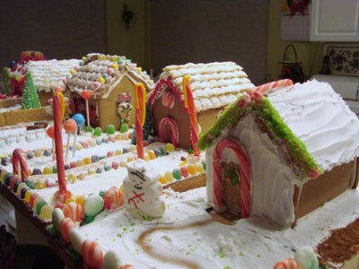 Extreme Gingerbread Contest at Our House