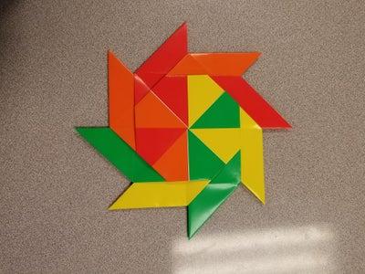 Modular Transforming Origami Ninja Star