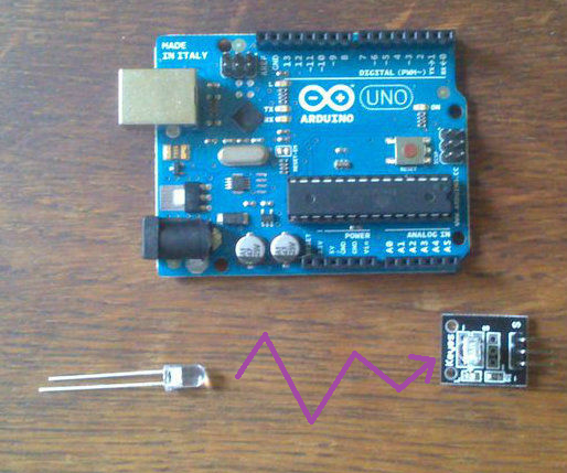 Cheap Wireless Transmission Between Two Arduinos With Infrared